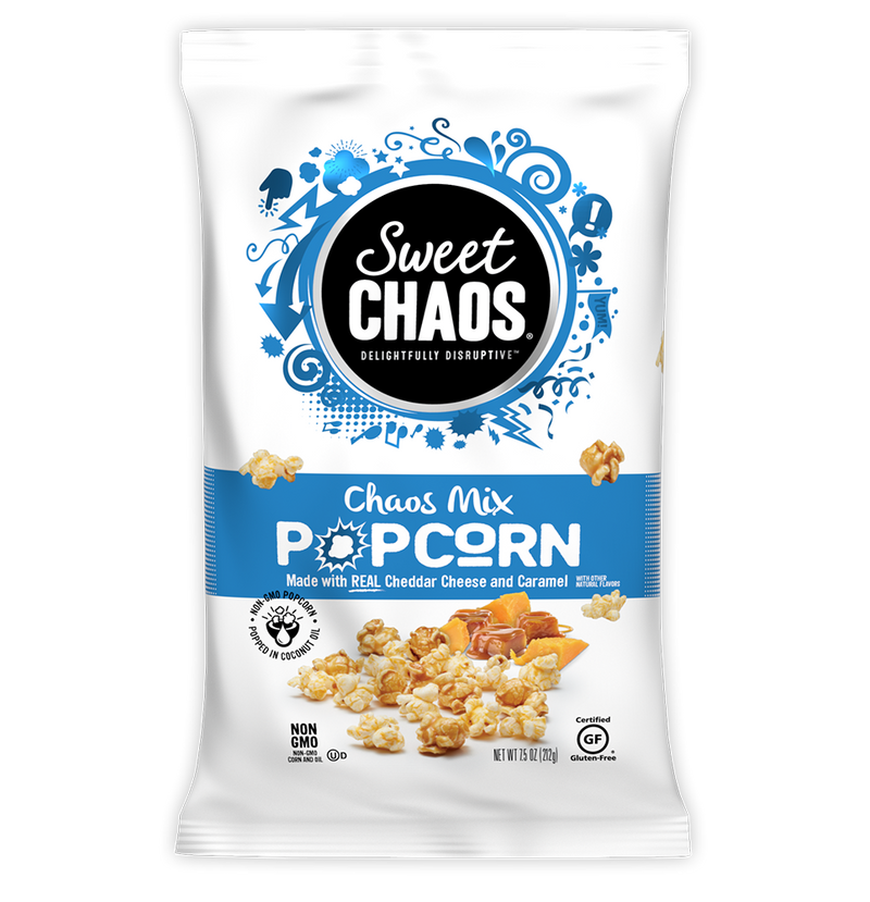 Sweet Chaos Chaos Mix Popcorn - front of bag