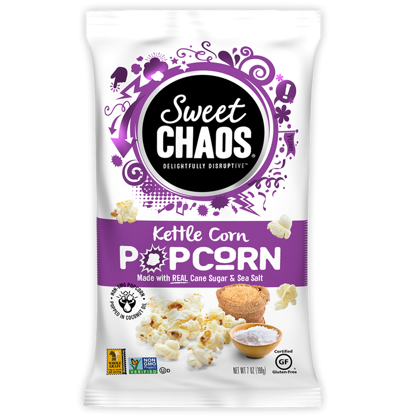 Sweet Chaos Kettle Corn - front of bag