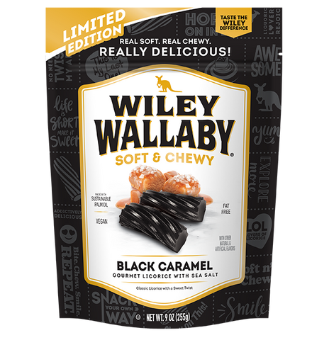 Wiley Wallaby Black Caramel Sea Salt