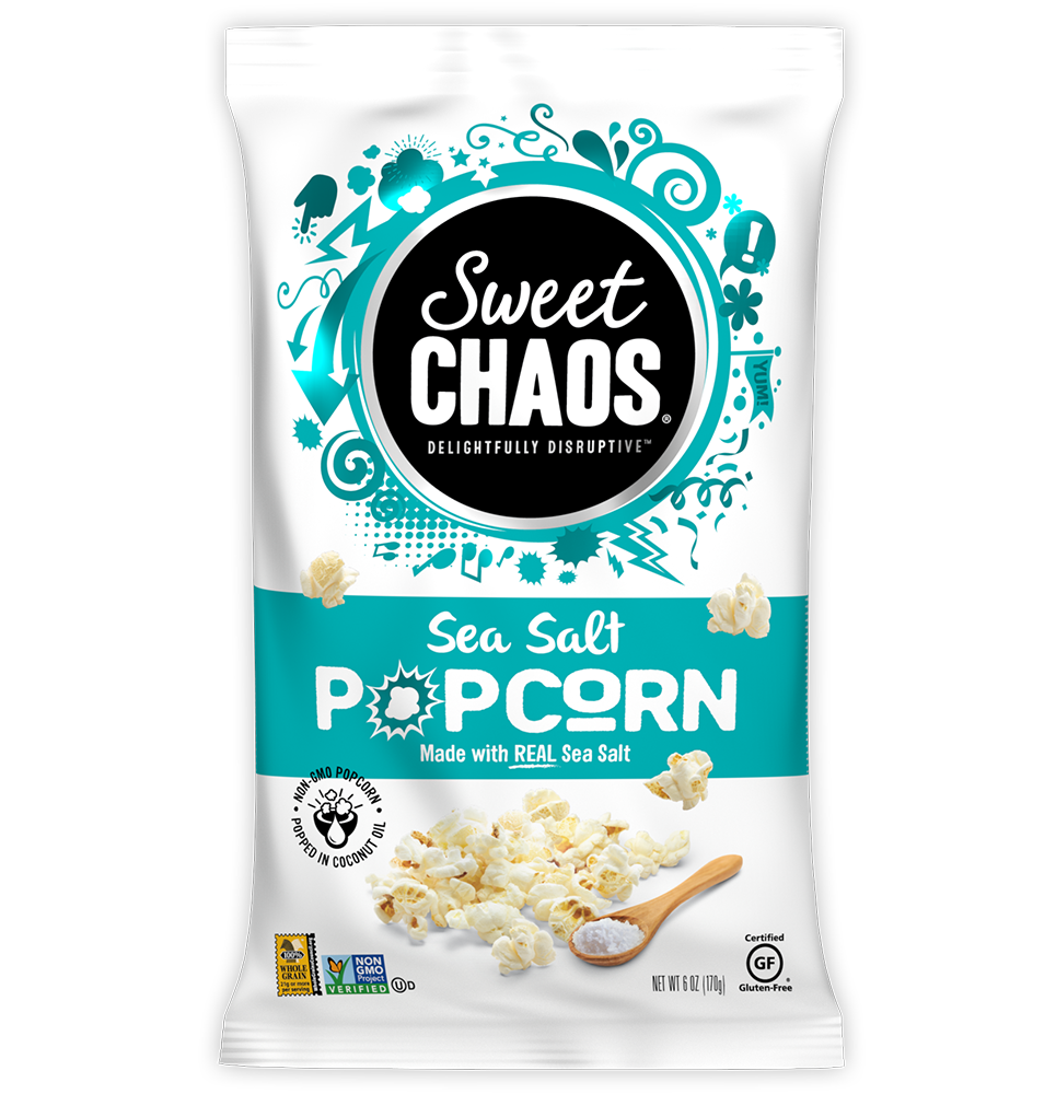 Sweet Chaos Sea Salt Popcorn