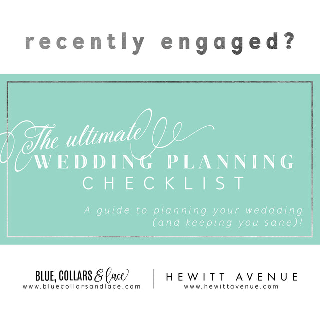 Recently Engaged? Get organized with our Wedding Planner Checklist and Timeline