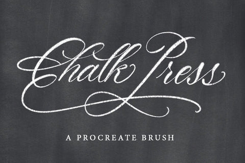 Printable Haven Chalk Press