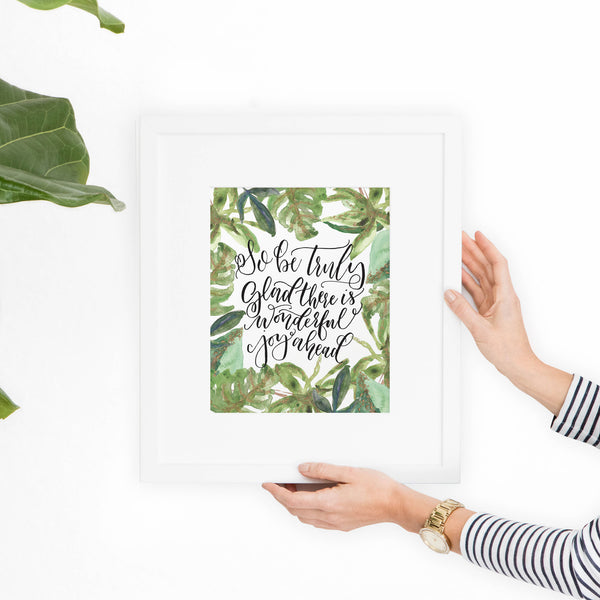 1 Peter 1:6 Printable Art - Hewitt Avenue