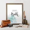 1 John 3:18 Printable Art - Hewitt Avenue