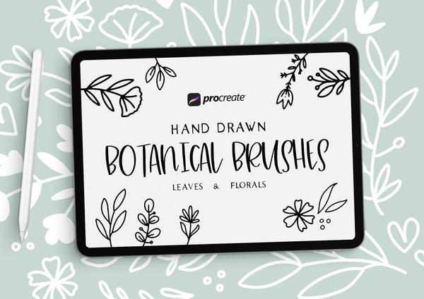 Botanical Brushes for Procreate