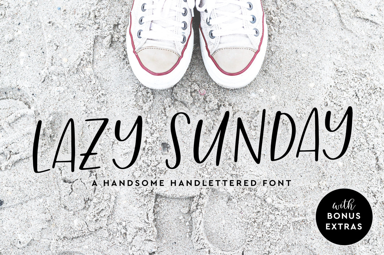Lazy Sunday Handwritten Font - Hewitt Avenue