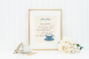 All I need is Coffee + Jesus Printable Art - Hewitt Avenue