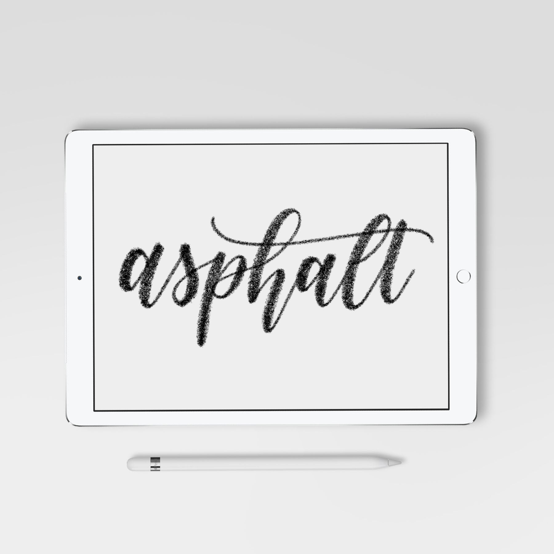 Asphalt Procreate Brush