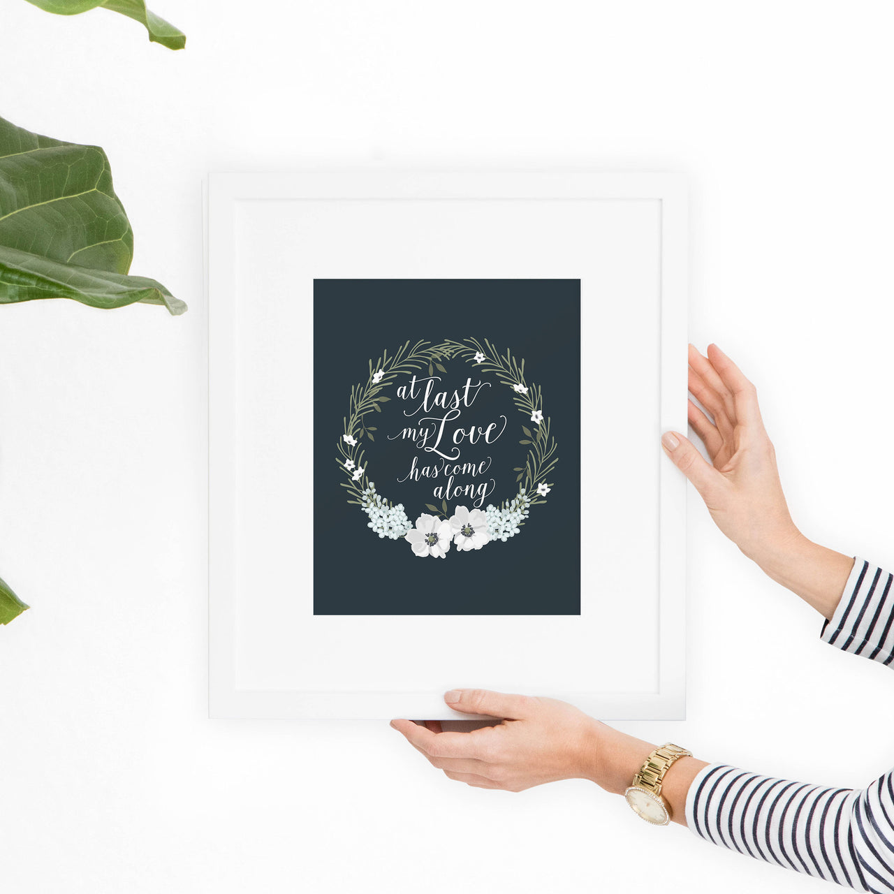 At Last My Love Printable Art - Hewitt Avenue