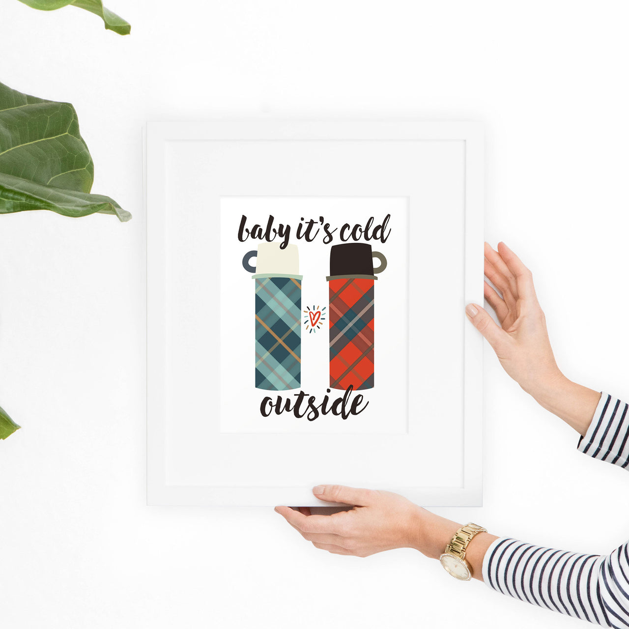Baby It's Cold Outside Printable Art - Hewitt Avenue