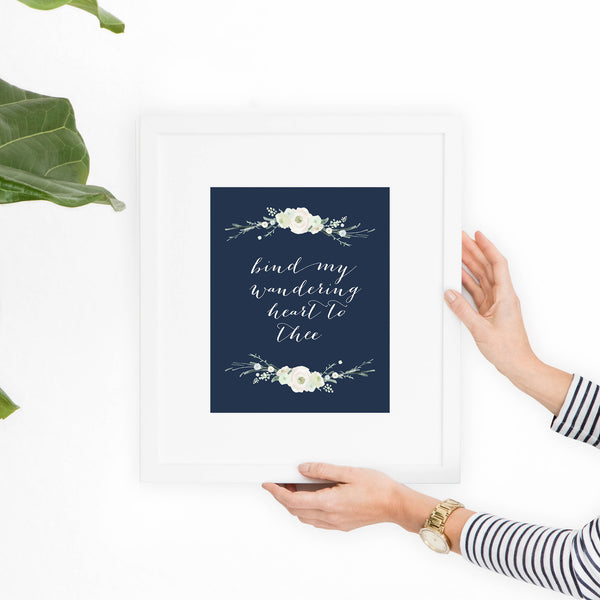 Bind My Wandering Heart Printable Art - Hewitt Avenue
