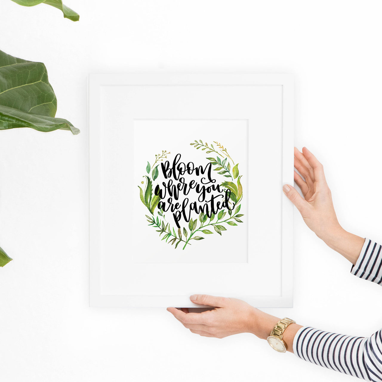 Bloom Where You are Planted Printable Art - Hewitt Avenue