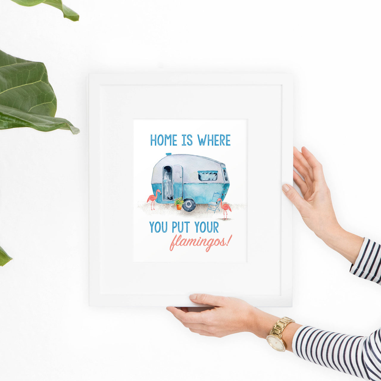 Home is Where Printable Art Quote - Hewitt Avenue