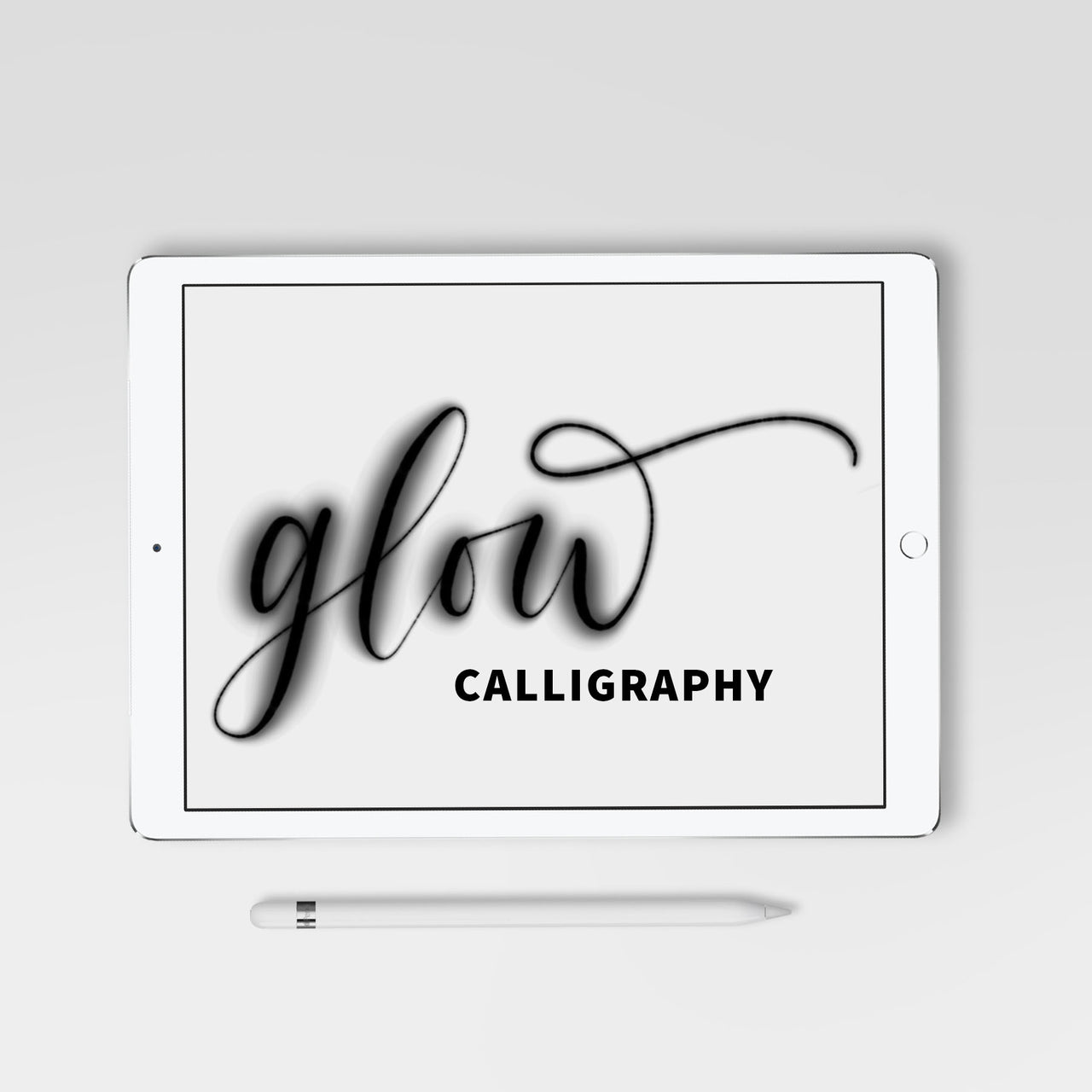 Glow Calligraphy Procreate Brush - Hewitt Avenue