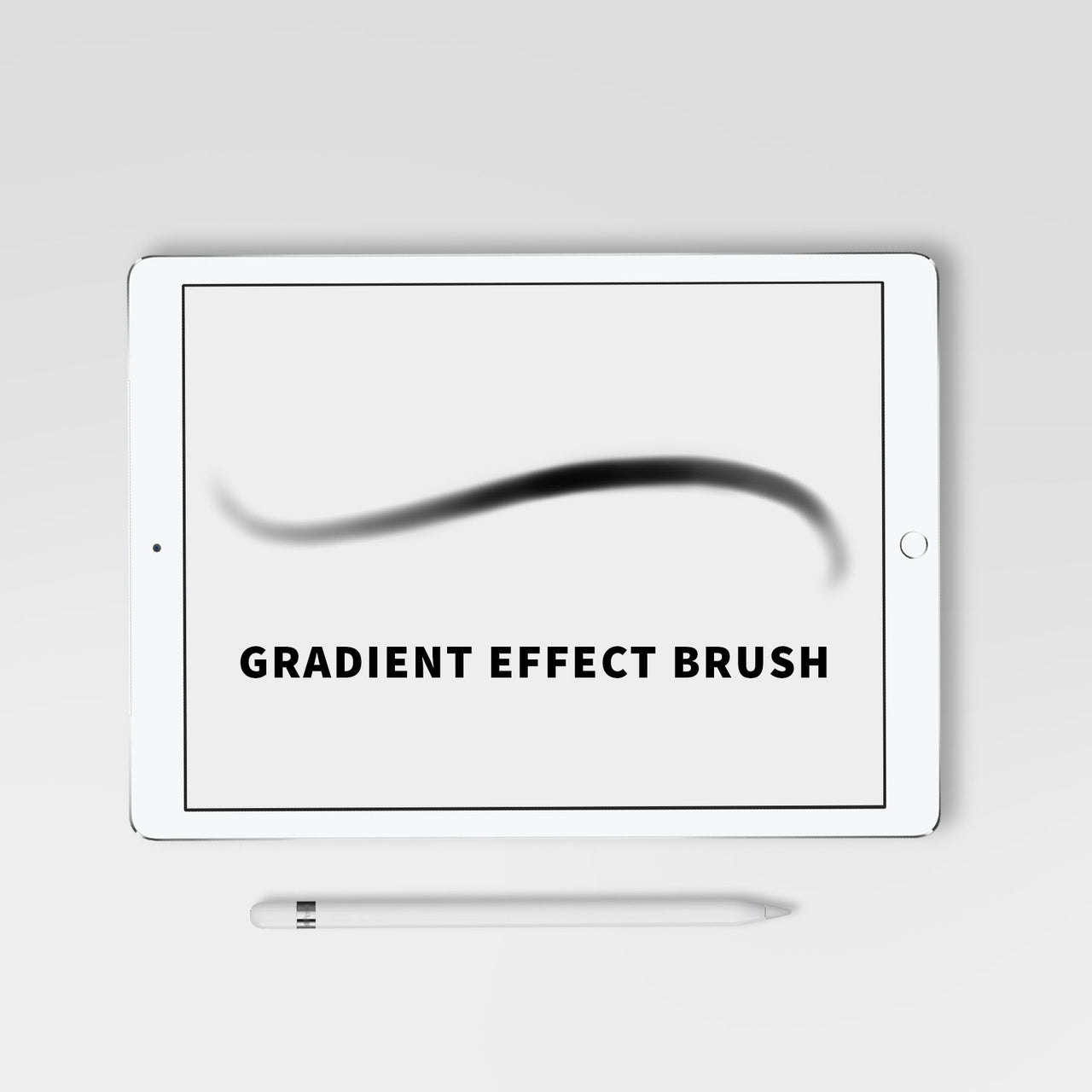 Gradient Effect Procreate Brush - Hewitt Avenue