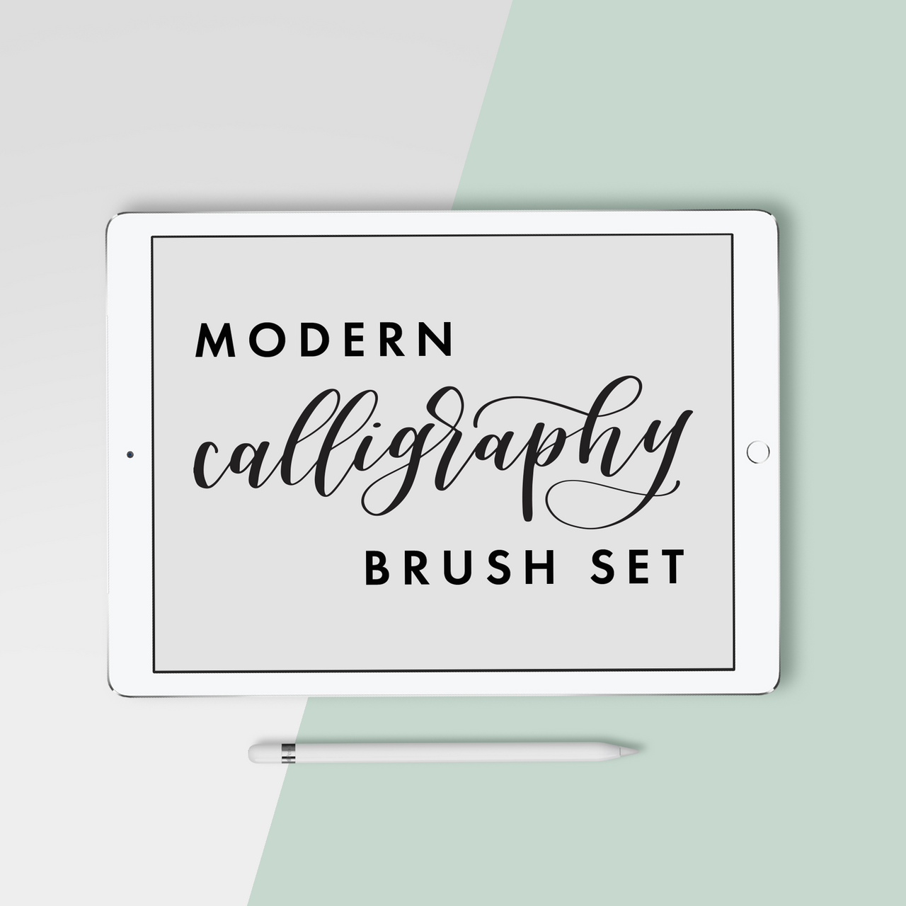 Modern Calligraphy Procreate Brush Set - Hewitt Avenue