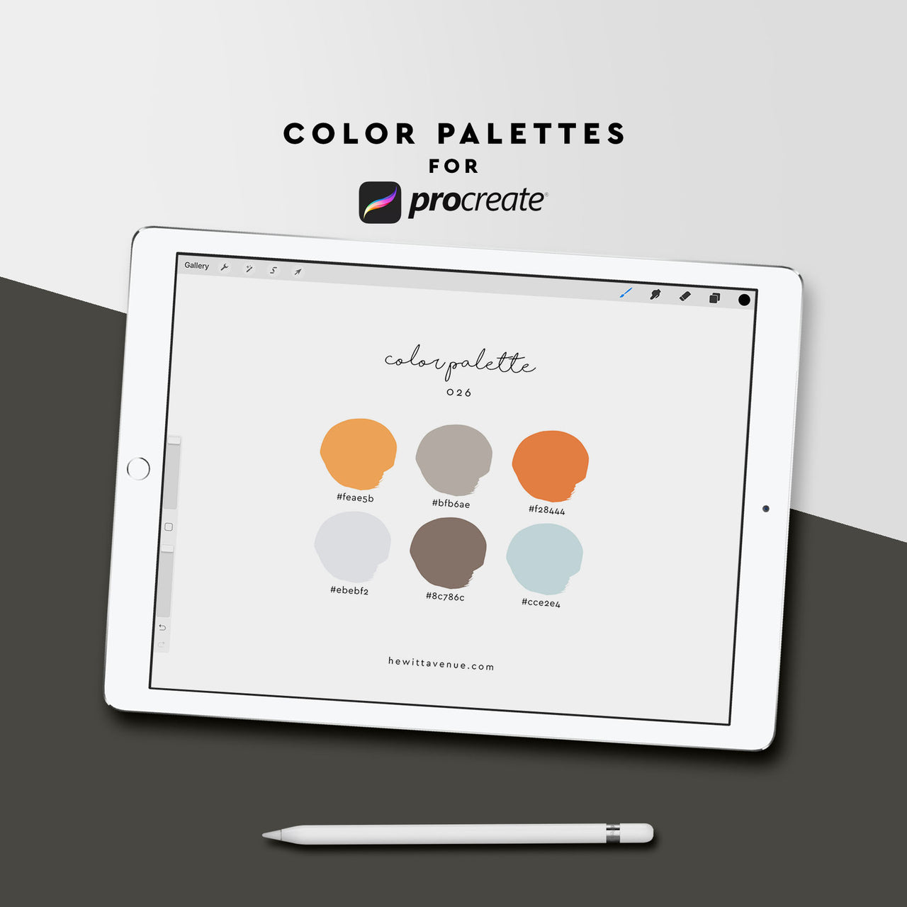 Color Palette 026 - Hewitt Avenue