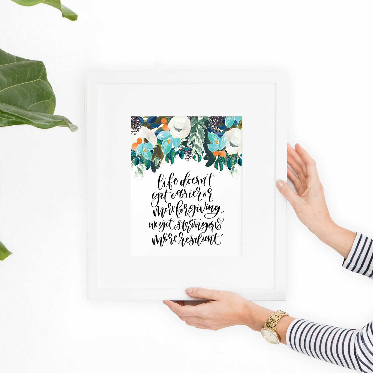 Resilient Floral Printable Art - Hewitt Avenue