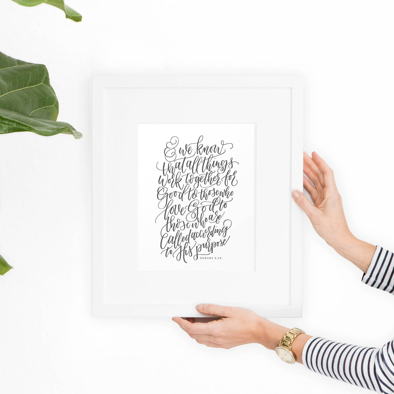 Romans 8:28 Printable Art - Hewitt Avenue