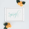 iPad Lettering Watercolor Rough Procreate App Brush Brush