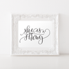 Proverbs 31:25 She is Strong Printable Art - Hewitt Avenue