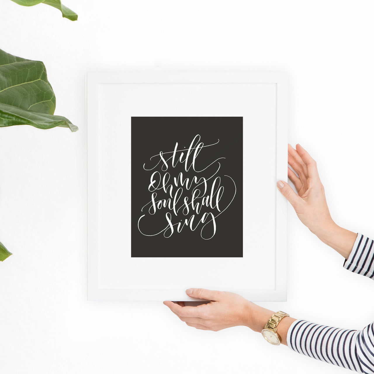 "Nearer My God to Thee ""Still Oh My Soul Shall Sing"" Printable Art - Hewitt Avenue"