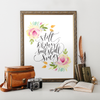 Still Oh My Soul Shall Sing Printable Art - Hewitt Avenue