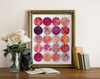 Pink Circles Printable Art - Hewitt Avenue