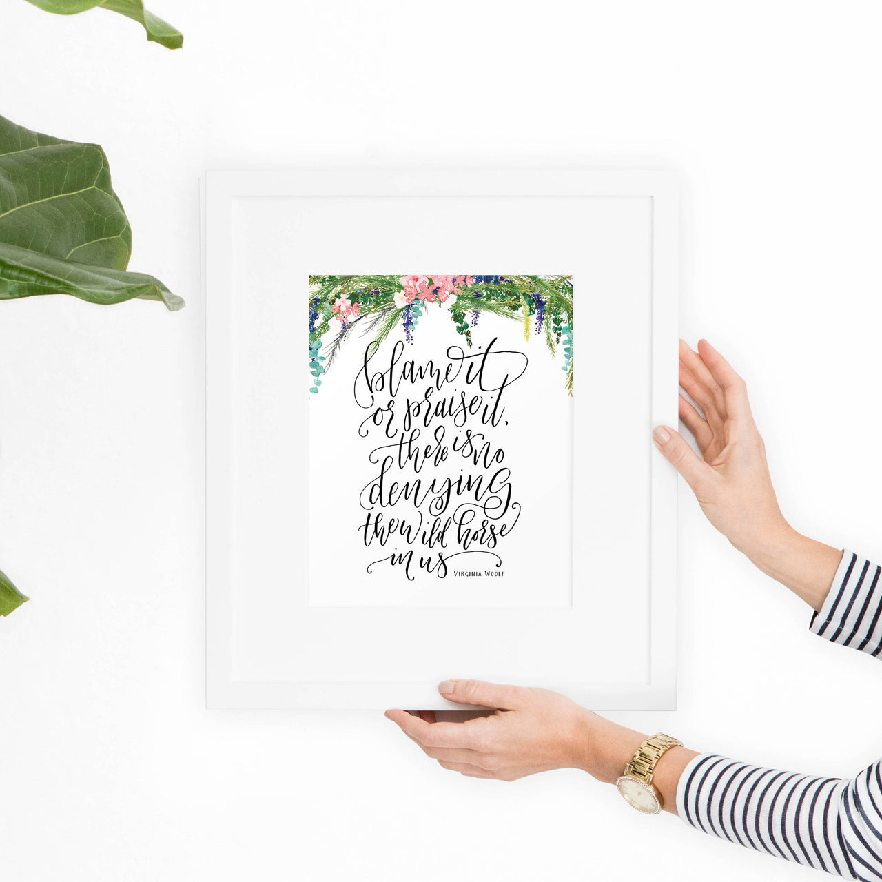 Virginia Woolf Printable Art Print - Hewitt Avenue