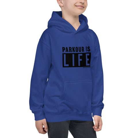 Parkour for Life Kids Hoodie