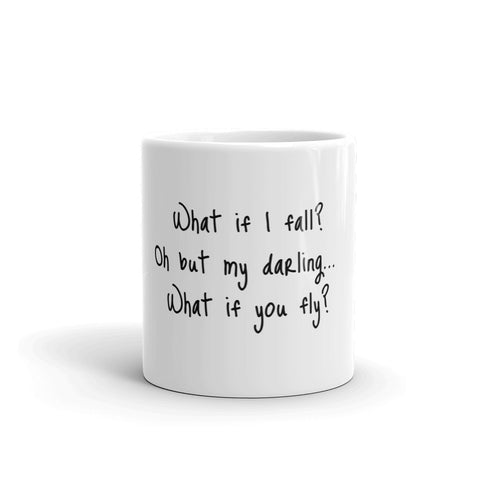 Aerial What if I Fly Coffee Mug