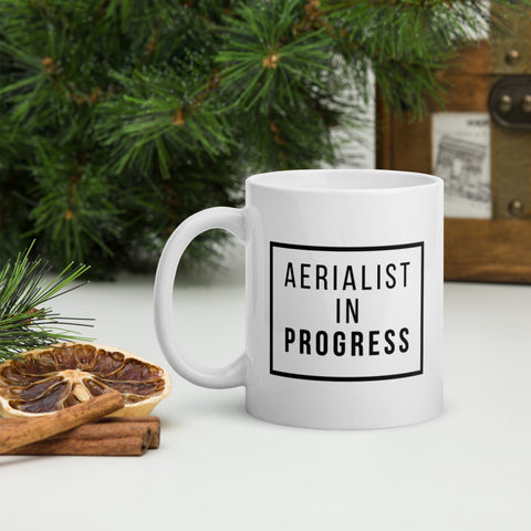 Aerialist In Progress Mug