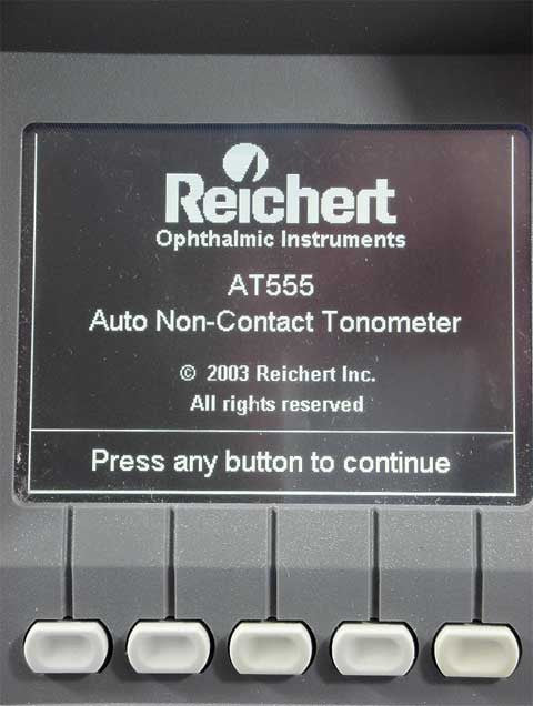 Reichert AT-555 NCT - Precision Equipment