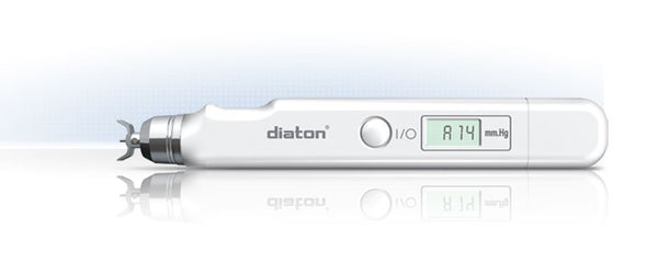 Diaton IOP Tonometer- Through Eyelid and Sclera