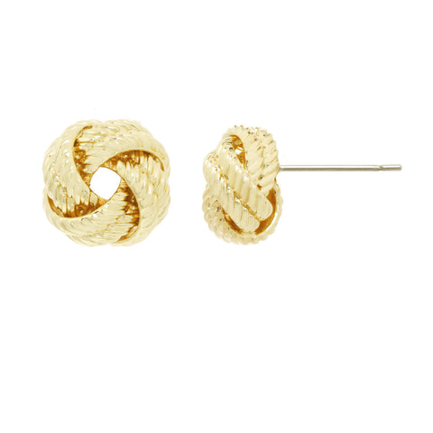 Textured French Knot Earring