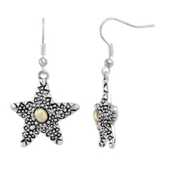 Two Tone Starfish Earring