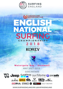 Entries open for 2018 English National Surfing Championships