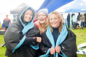 Surfing GB and dryrobe