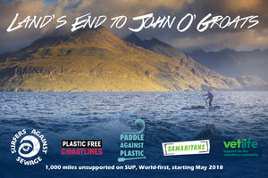 Cal Major - Paddleboarding from Land's End to John O'Groats