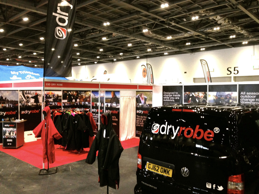 Davina McCall | Sport Relief, Countryfile and Trade show madness | dryrobe