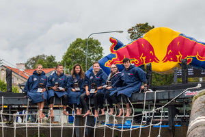 dryrobe partners with Red Bull Neptune Steps Sweden