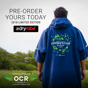 Pre-Order Your Limited Edition 2018 OCRWC dryrobe