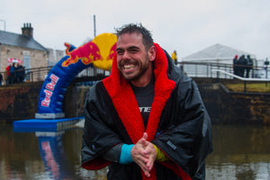 Ross Edgley is taking on The Great British Swim