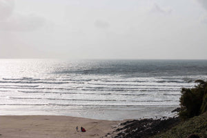 Surfing, Yoga and dryrobe at Saunton Sands