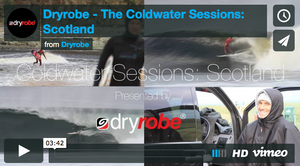 Dryrobe – The cold water sessions