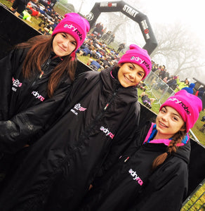 dryrobe ambassadors - The OCR Girls