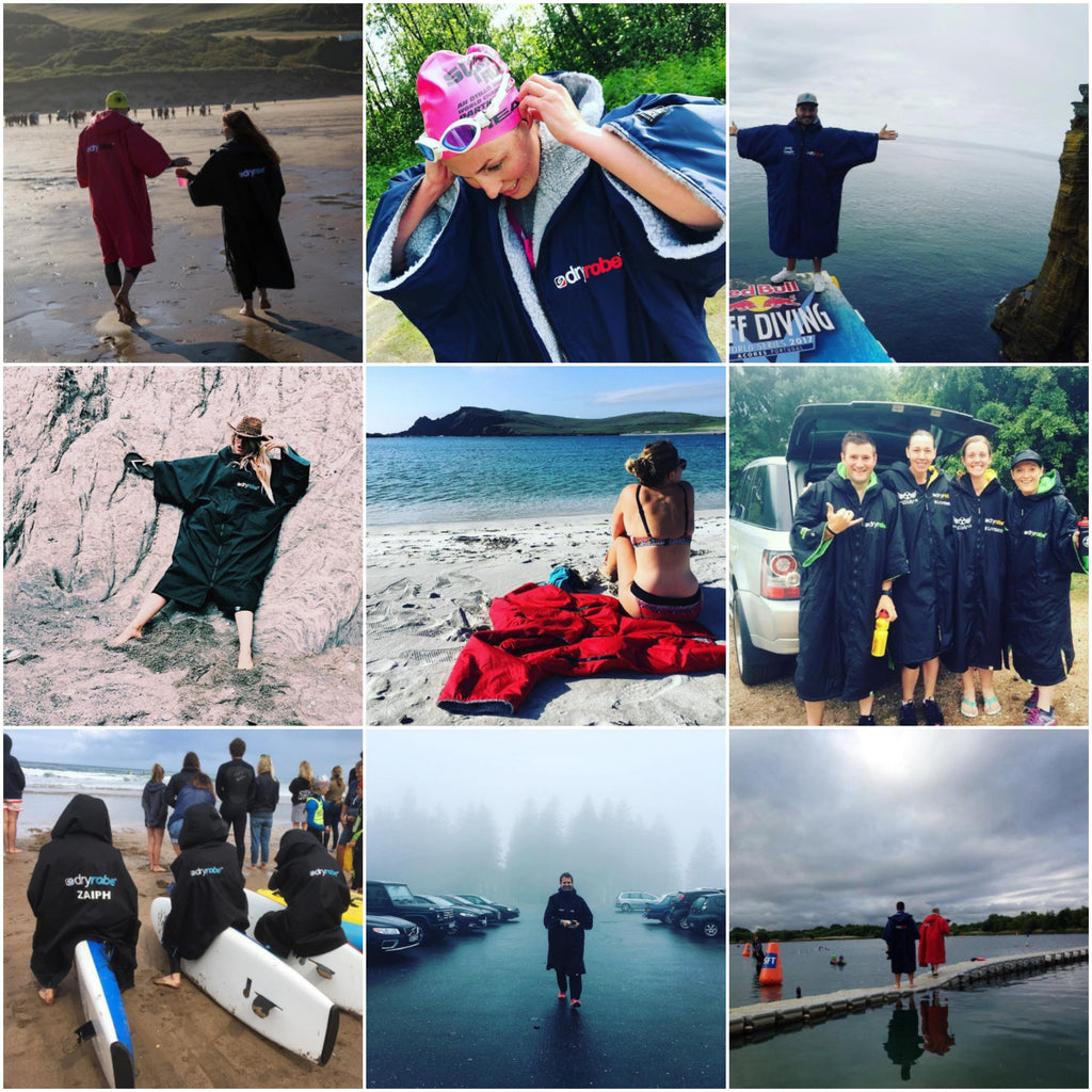 How do you use your dryrobe? #mydryrobe