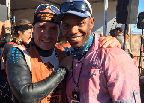 Sean Corvelle Jay Mazza dryrobe worlds toughest mudder