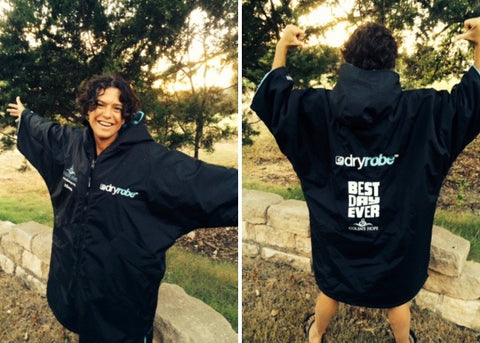 dryrobe best day ever Alissa Magrum