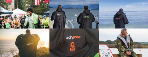 dryrobe arrives in USA